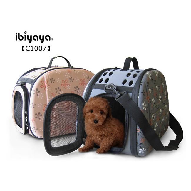 ~ ~IBIYAYA 依比呀呀EVA 輕巧摺疊寵物提包FC1007 大象灰典雅裸寵物提籠寵