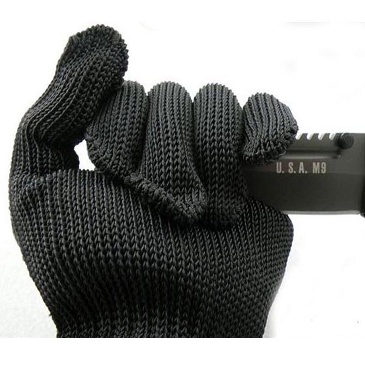 耐用多用途5 級鋼絲手套 防護防身加強型防割手套