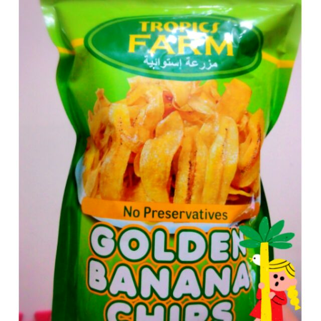 買十送一機會難得啊!菲律賓名產黃金香蕉脆片~350 克~