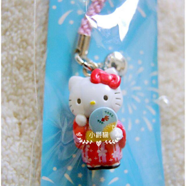 夏日祭典三麗鷗hellokitty 凱蒂貓和服浴衣煙火大會精緻吊飾