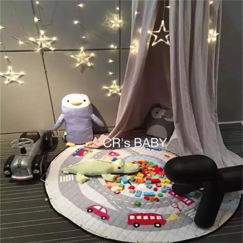 玩具收納墊兒童遊戲爬行墊