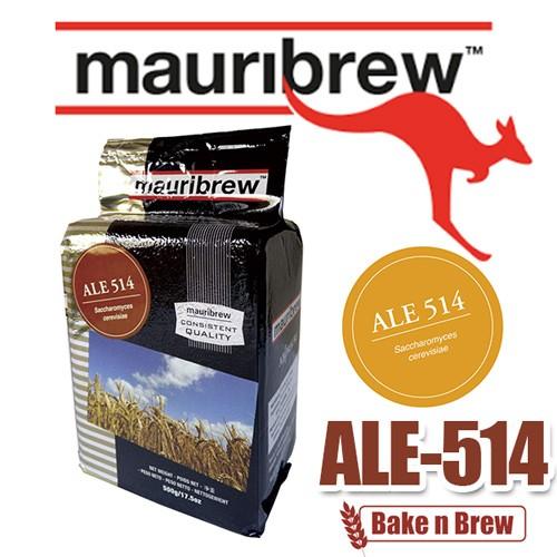 BakenBrew 自釀啤酒原料Mauribrew Ale 514 啤酒酵母耐高溫32 度
