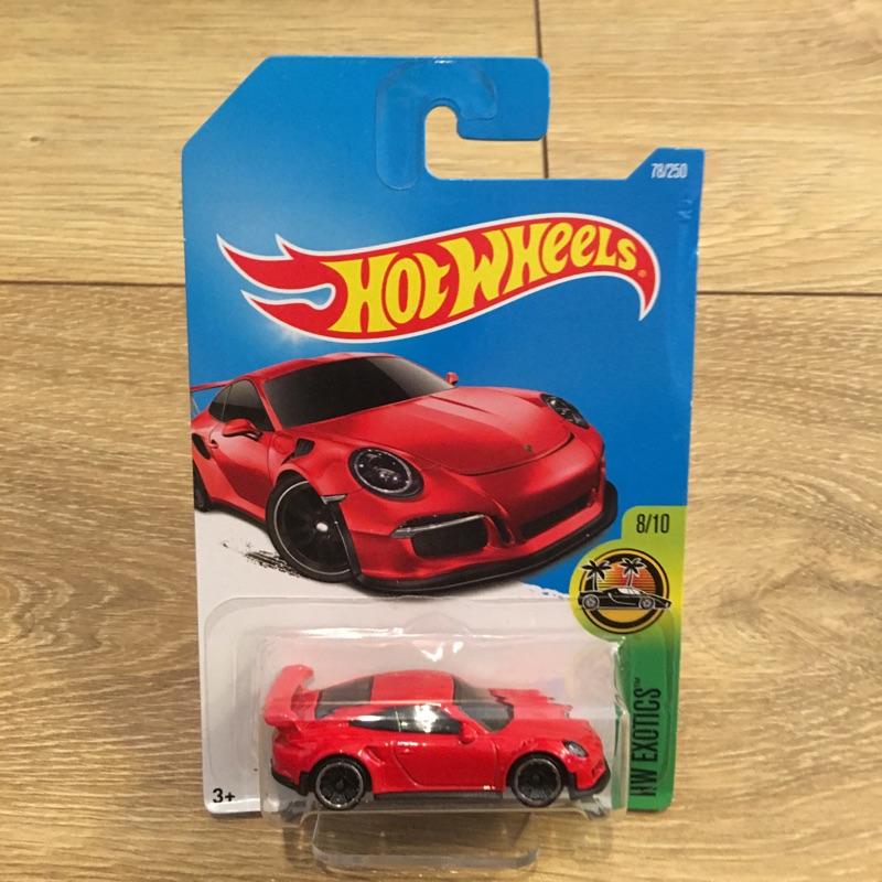 HOT WHEELS 風火輪PORSCHE 911 GT3 RS