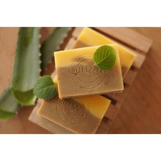 ~女王天然 皂~蘆薈薄荷調理平衡皂膚質中性混合性油性問題性