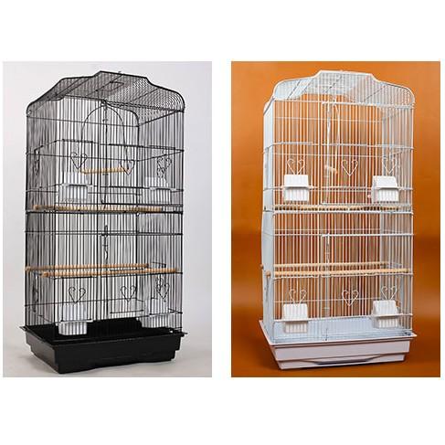 ~ ~ 大號!黑色平頂大鸚鵡籠鳥籠玄鳳籠群鳥籠鳥窩鳥屋鳥房子鸚鵡鳥籠 各類鳥