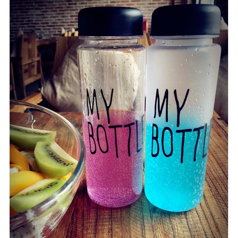 新增磨砂顏色款!韓國my bottle 水杯塑料隨行杯子韓國學生 便攜帶蓋磨砂隨手杯