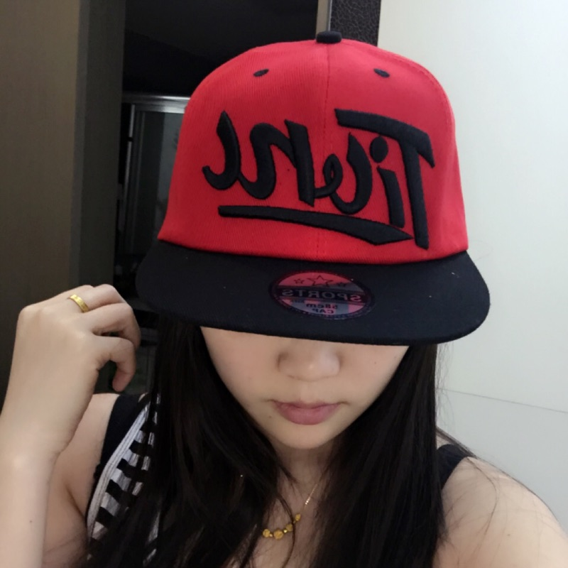 瀅瀅小舖GF62005 英文字母嘻哈帽潮款情侶帽棒球帽平沿帽帽子
