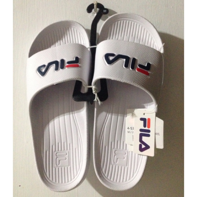 Fila 防水拖鞋