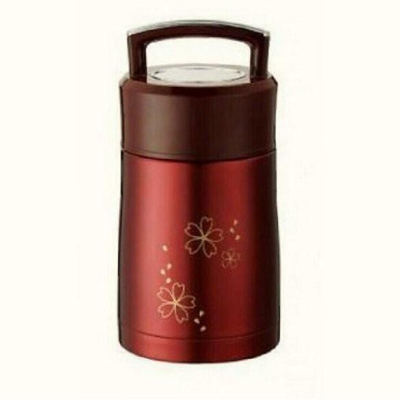 THE SISTER 掌廚可樂膳手提不銹鋼超真空保溫燜燒罐1 2L 珠光紅
