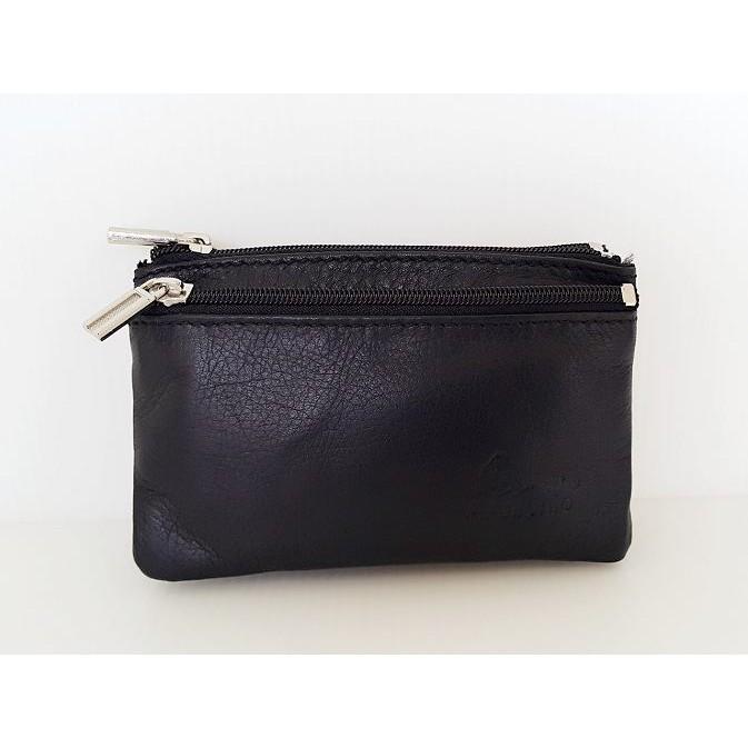 悠格~YOGSBEAR ~N 頭層牛皮A Antonio 牛皮零錢包鑰匙包錢包證件袋印章袋