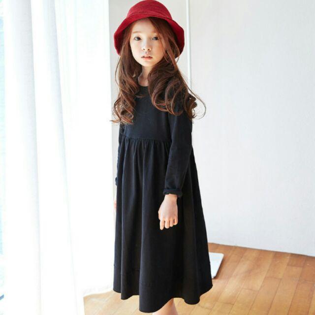 ~黑色洋裝100 165cm 親子裝