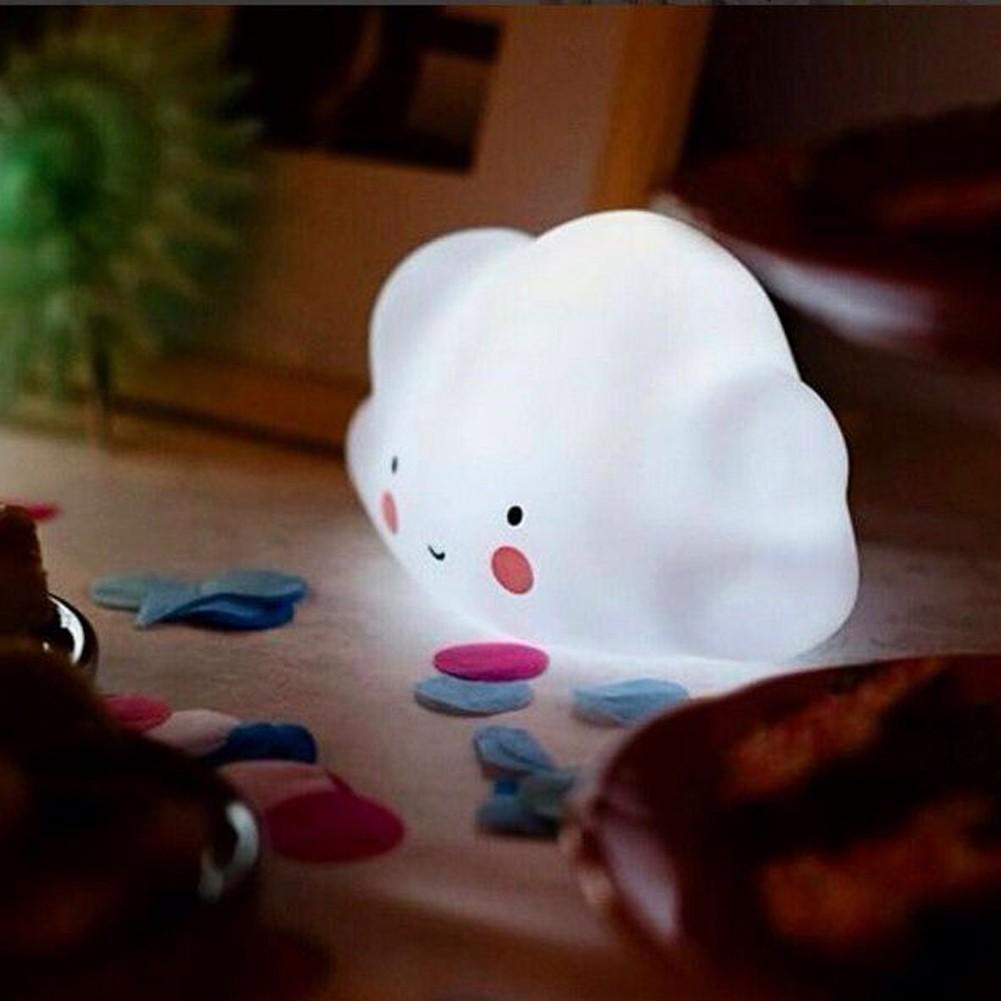 爆款雲朵燈發光兒童房裝飾發光玩具電燈