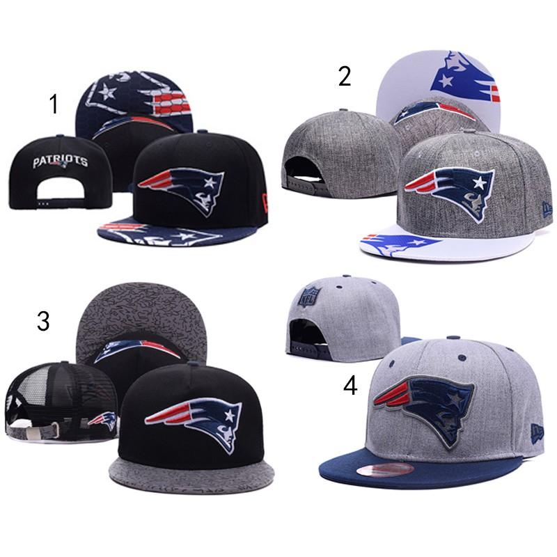 NFL 橄榄球系列England Patriots 新英格兰爱国者潮牌帽老帽