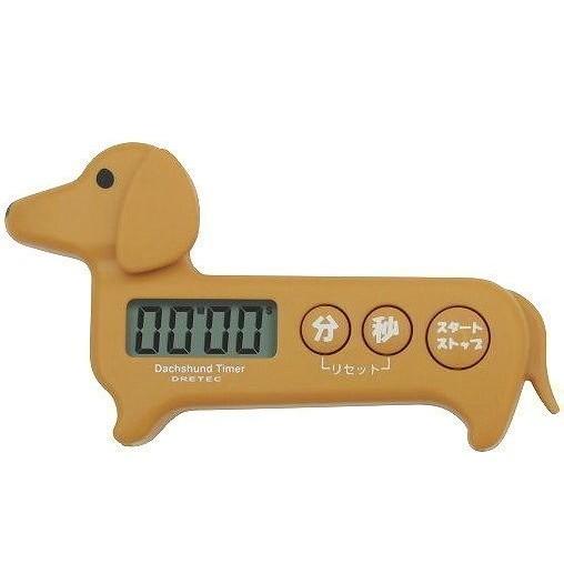 DRETEC 蘋果蕃茄草莓臘腸狗計時器T 505RD 電子計時器非TANITA