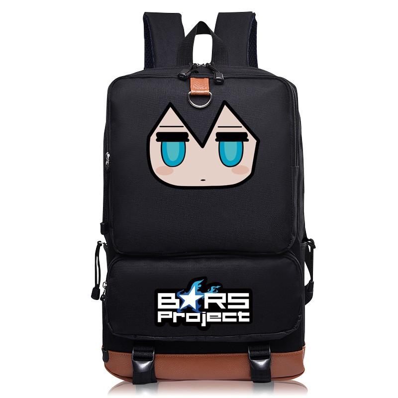 黑化黑巖射手初音書包男女初高中學生雙肩包動漫周邊電腦背包BRS