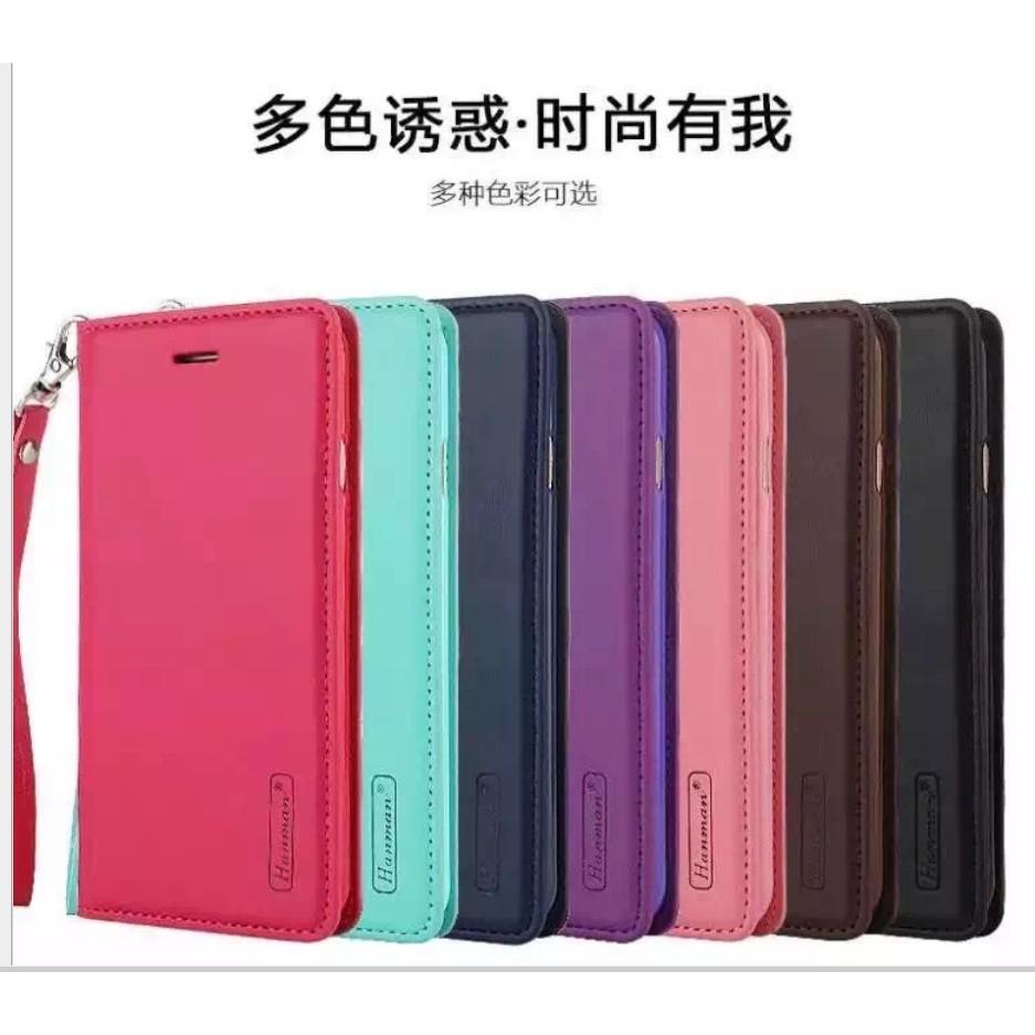 韓曼真皮小米MAX 手機殼紅米Note4 4X 保護套商務翻蓋皮套紅米4X