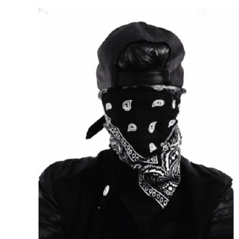 嘻哈西岸變形蟲GD 方巾頭巾a ap 蒙面HIp Hop 街舞街頭