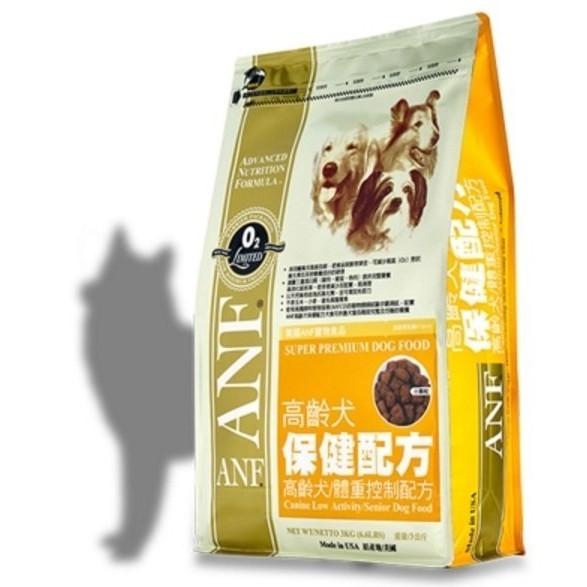 ANF 愛恩富老犬保健/體重控制配方小顆粒1 5kg 1 5 公斤