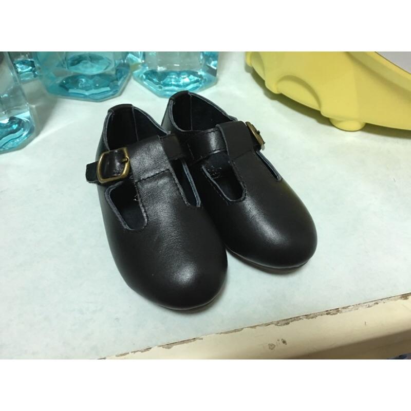 復古軟底真皮鞋