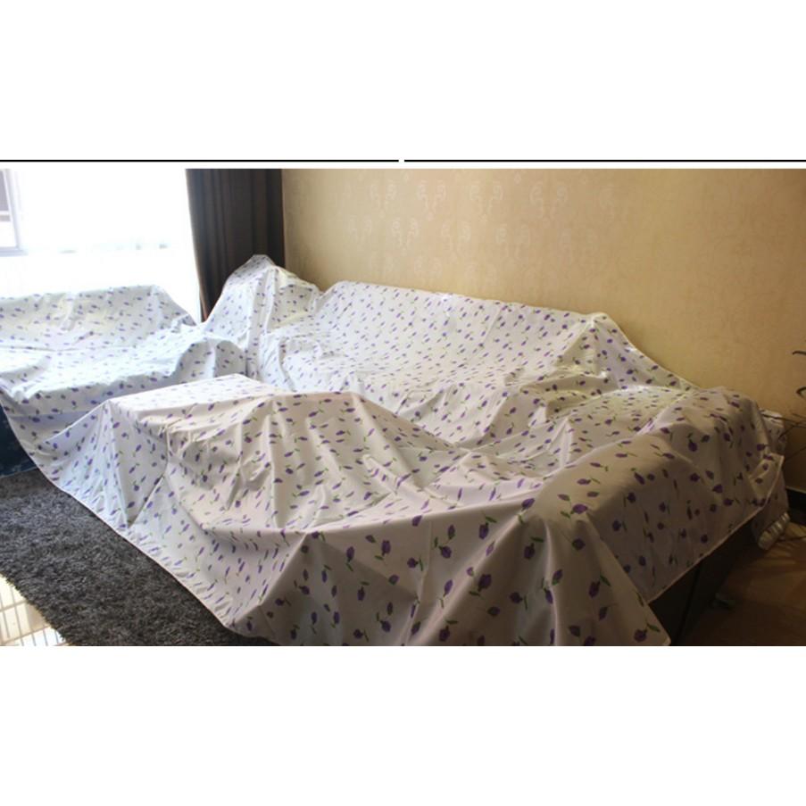傢俱沙發床防塵罩單布大掃除裝修防灰塵床罩單隔髒遮灰萬能大蓋布