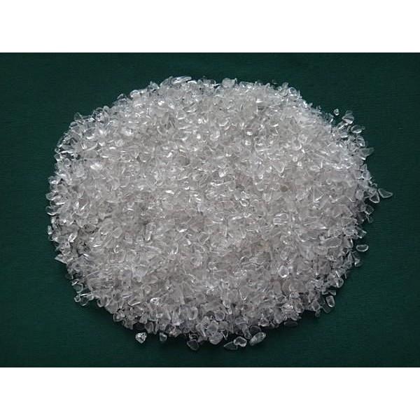 全真寶石坊~~533 ~~珍貴礦石~白水晶碎石原礦淨重1000 公克