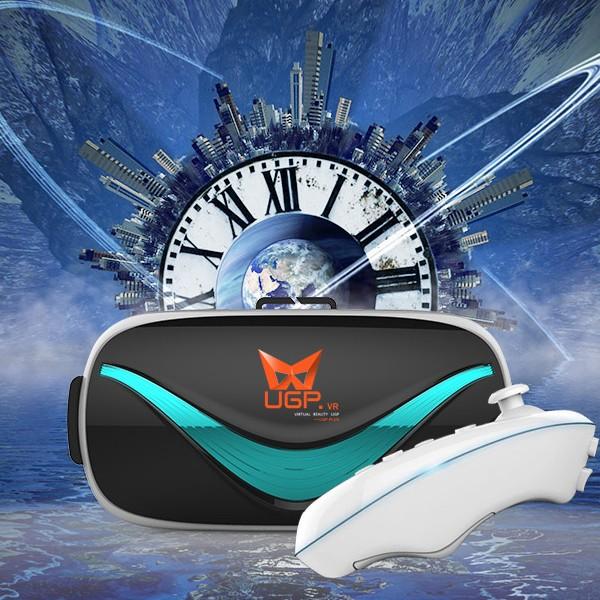 免 vr VR 虛擬現實3d 魔鏡頭盔UGP 3D 眼鏡htc PS VR i6 頭戴式影