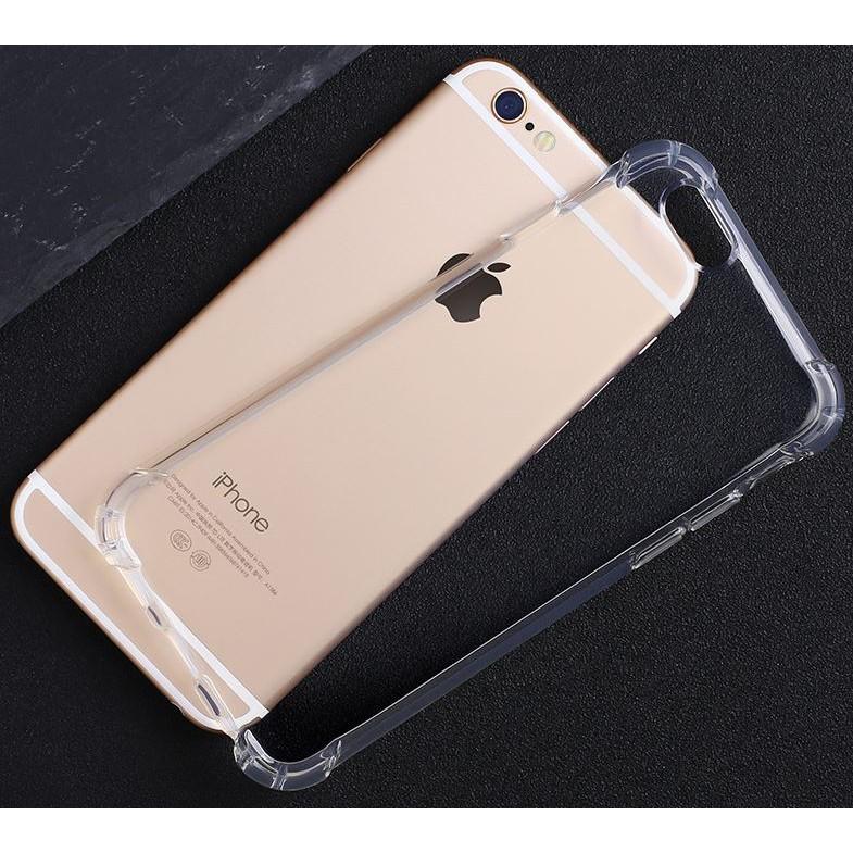 iphone 6 6s 7 plus 蘋果手機殼四角防摔氣囊全面加厚全包鏡頭保護超透明軟殼