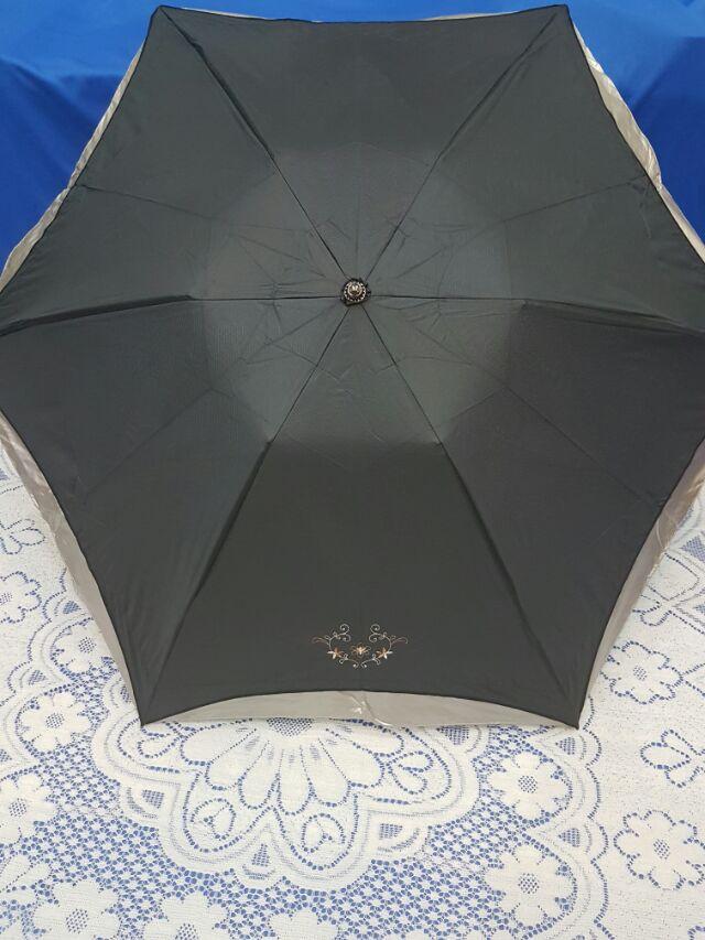 us065 傘 超強遮光超強抗UV 防雨輕量傘晴雨傘折疊傘折傘直傘 雨傘