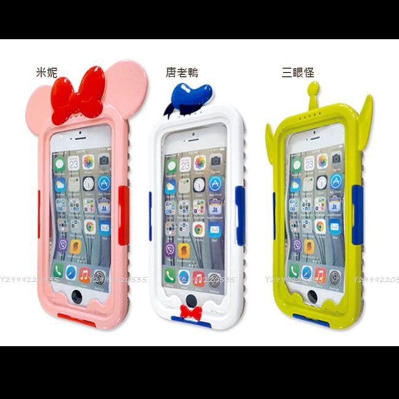 購入iPhone 6 6s 唐老鴨防水殼