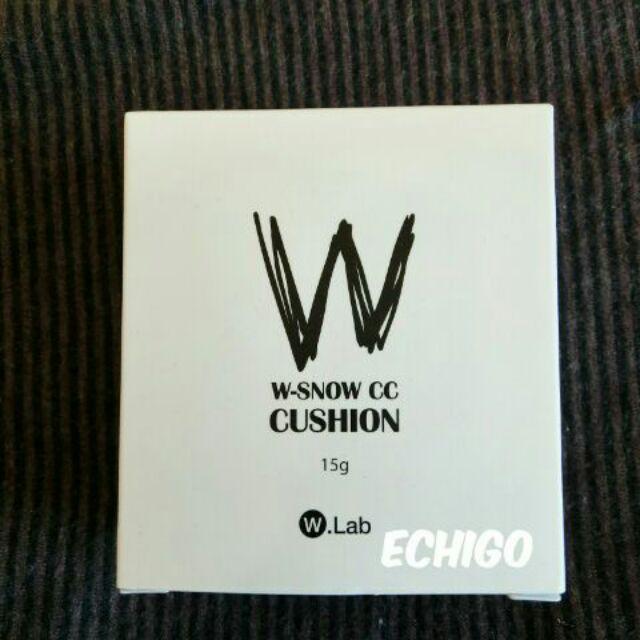 ECHIGO ~部分 ~韓國W lab 雪花清涼氣墊霜(白盒)
