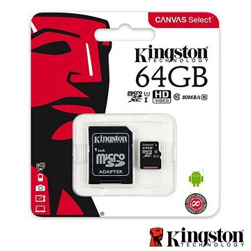 金士頓 Kingston micro SD 64G 記憶卡