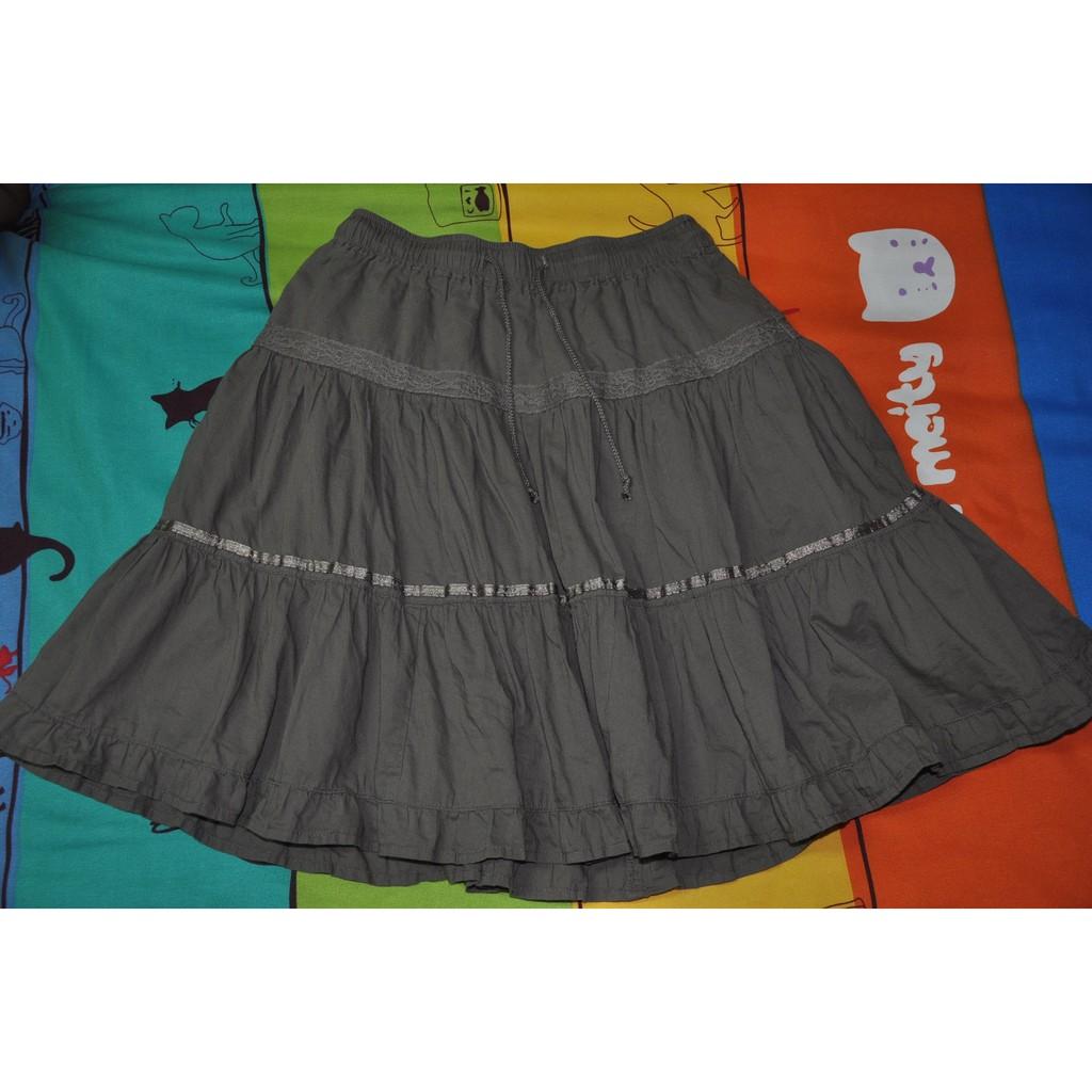 UNIQLO kids 咖啡色裙140cm