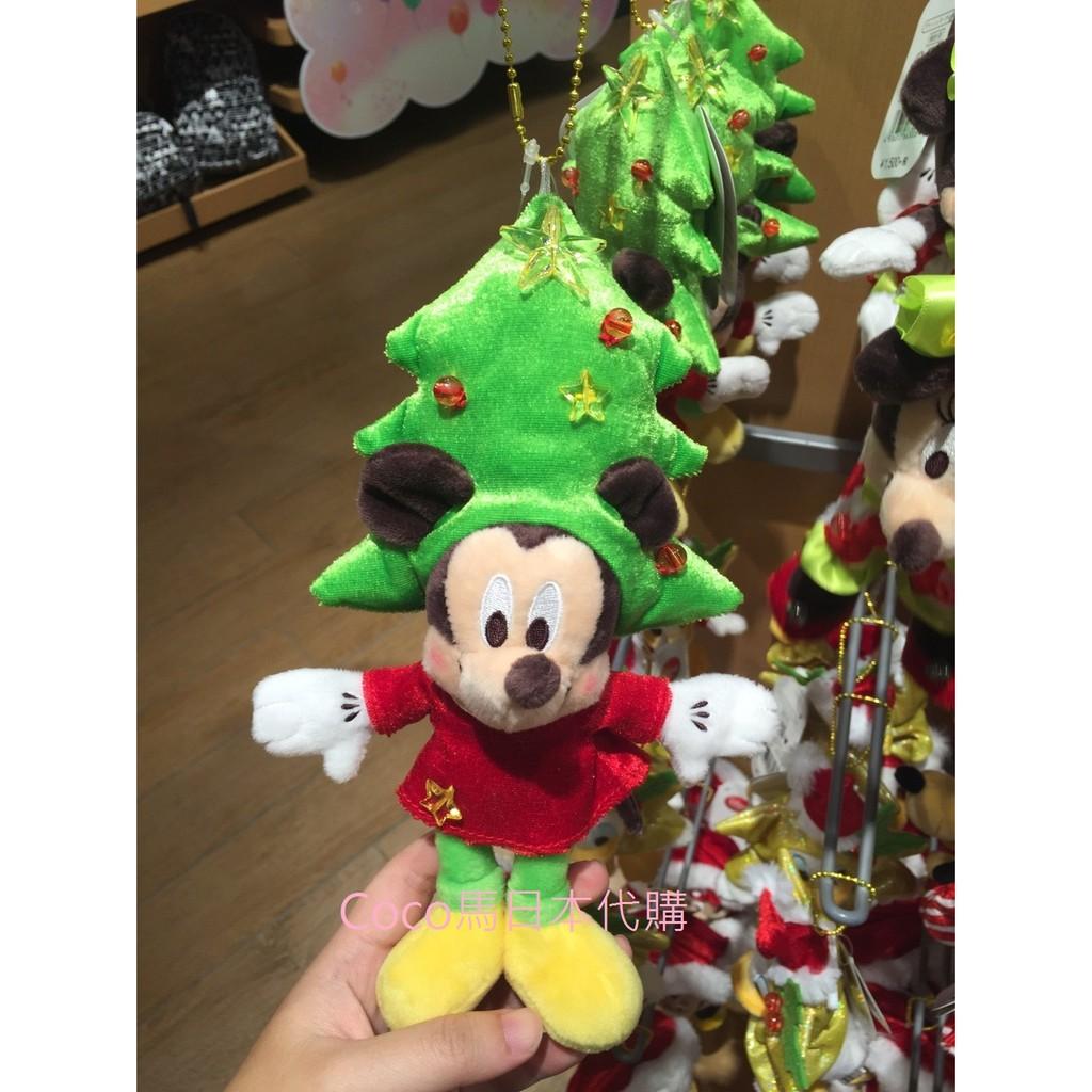 ~ ~迪士尼商店聖誕節吊飾米奇米妮唐老鴨布魯托雪人裝聖誕老公公裝
