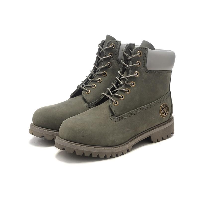 Timberland 天伯倫 情侶灰色36 45 男女靴登山靴 款36 45