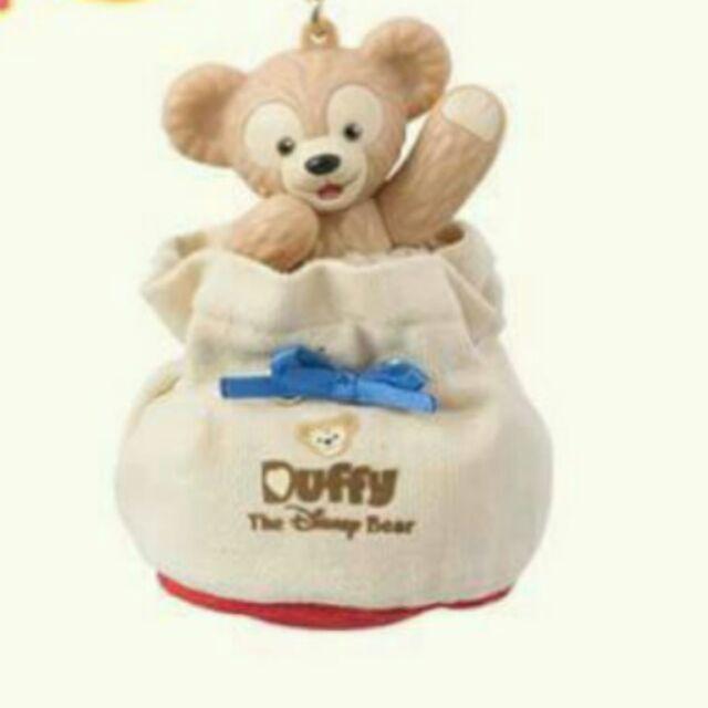 迪士尼7 20 新品達菲Duffy 水桶包吊飾