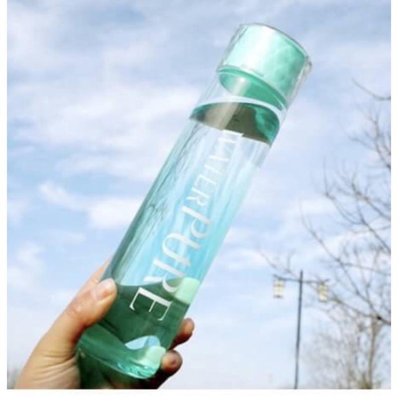 韓國小清新絕美漸層環保鑽石玻璃瓶