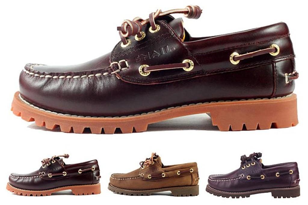 LJB 女款SNAIL 系列雷根大底帆船鞋雷根鞋休閒鞋情侶鞋3 色