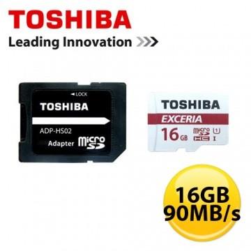 記憶卡32GB EXCERIA microSDHC UHS I U3 90MB Toshi