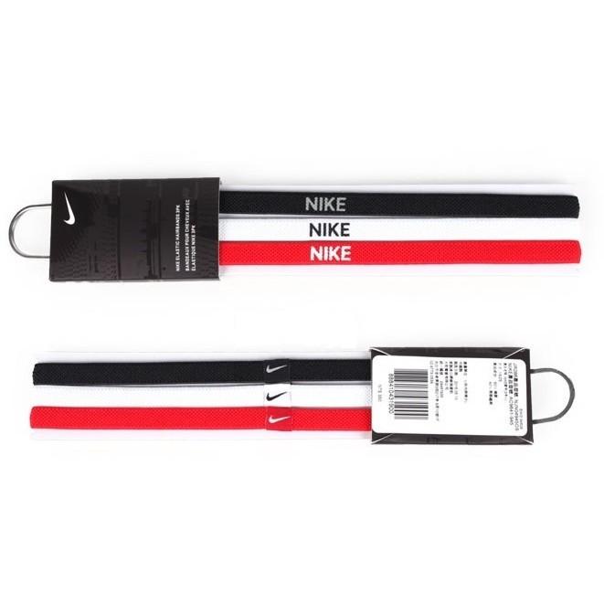 NIKE Bands3Pk 慢跑止滑髮帶髮束 頭帶NJN04945OS 三條一包正品 貨