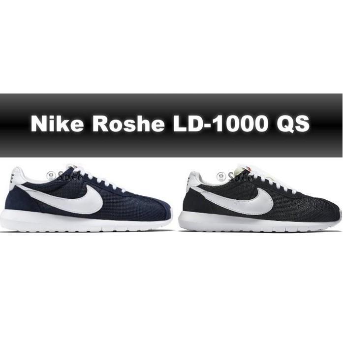 Nike Roshe LD1000 QS 黑深藍男女