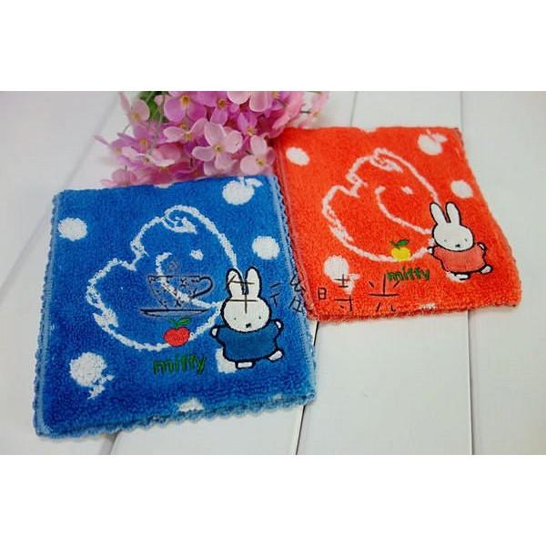 ~午後時光~Miffy 米菲兔水玉圓點大象圖案刺繡滾邊棉袋衛生棉生理用品護墊收納包2 色6