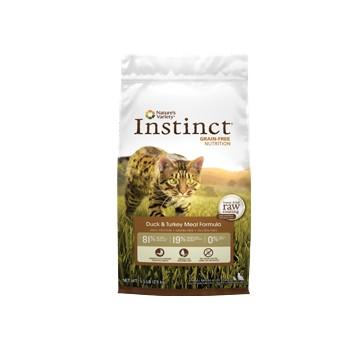 分裝包Instinct 原點本能NV 無穀鴨肉全貓配方1LB 1 磅