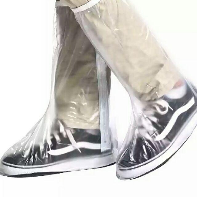 雨鞋套女男鞋套防水雨天防水鞋套防滑加厚耐磨防雨鞋套高筒雨靴套