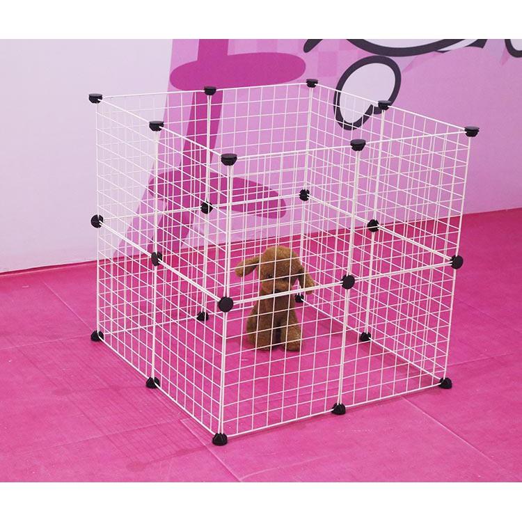 柵欄狗圍欄寵物狗籠子小型犬貓咪寵物籠兔籠自由 鐵網片寵萌物語