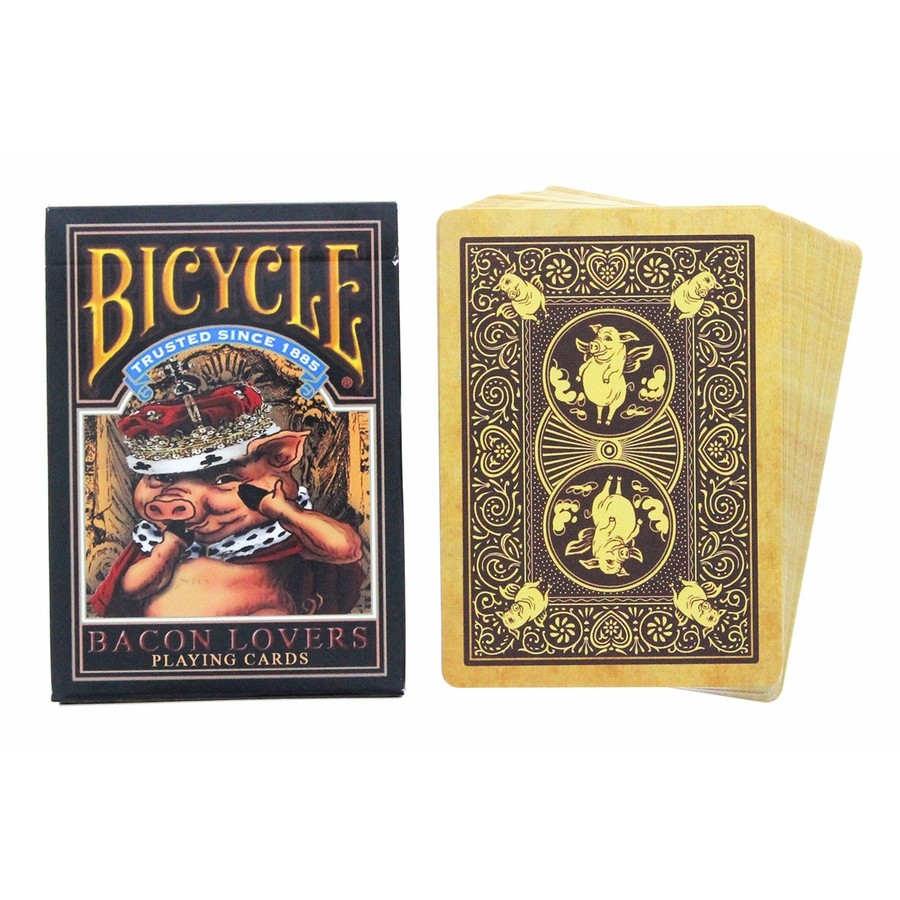 ~USPCC 撲克~Bicycle bacon lovers playing cards