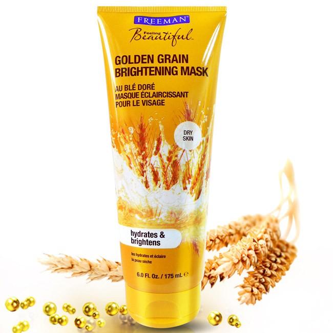 Freeman 黃金穀粒煥白淡斑面膜175ml 全膚質 消費高手