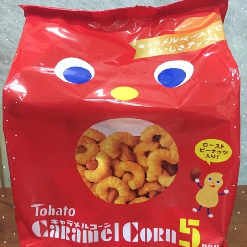 東鳩焦糖玉米脆果花生味5 包入120g