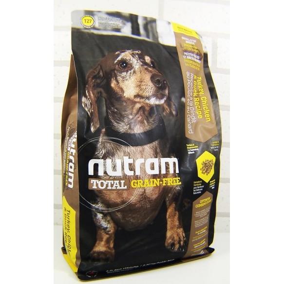 Nutram 紐頓無穀全能系列犬飼料T27 迷你犬火雞雞肉鴨肉配方2 72kg 狗糧