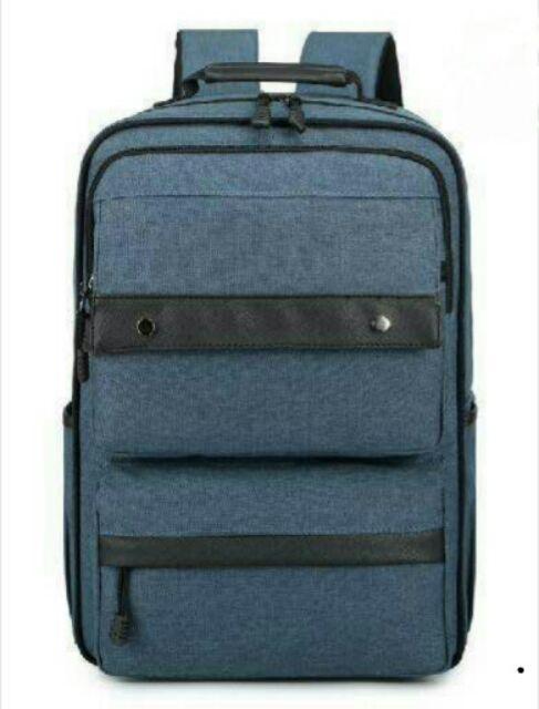 5 個起批250 防潑水9605 商務雙肩包學生電腦包方形帆布書包大容量牛津紡男士女士背包