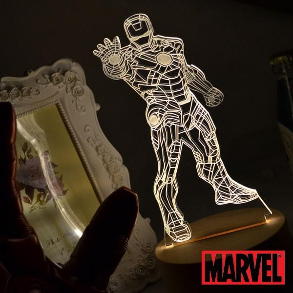 RA Design 3D LED 小夜燈美國 師鋼鐵人~ 1280 元~迪士尼 3D MA